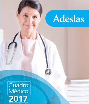 Adeslas - Cuadro médico Madrid 2017