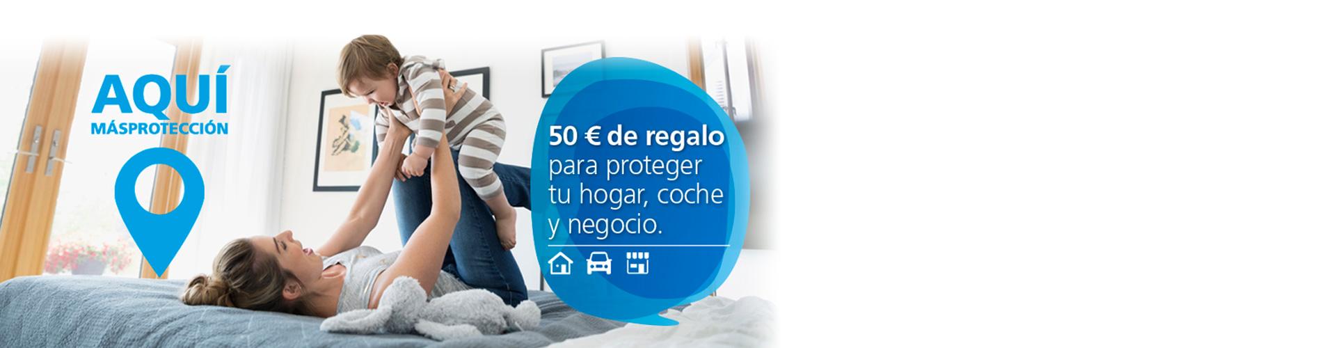 Más protección - Seguro de hogar