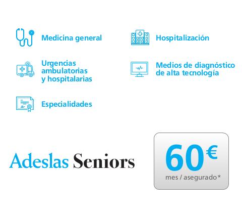 seguro médico para mayores seniors