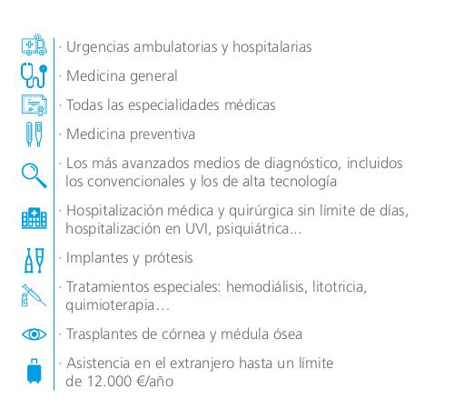 seguros de salud para mayores coberturas
