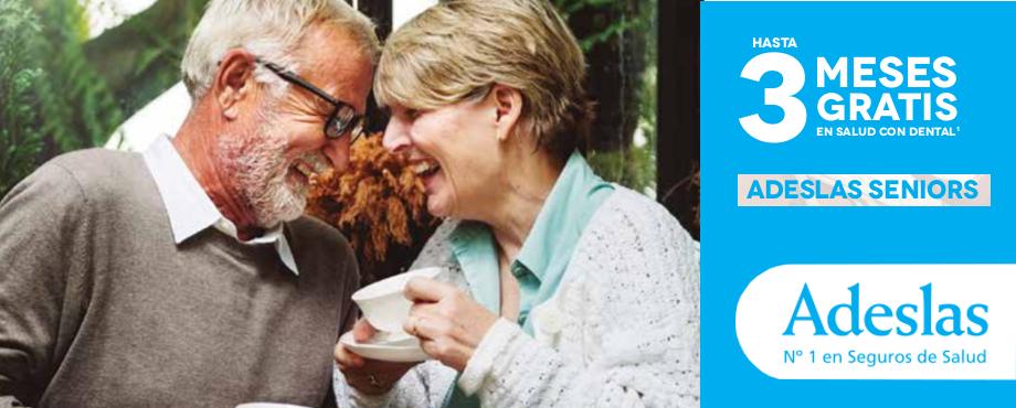 seguro de salud para mayores Adeslas Seniors