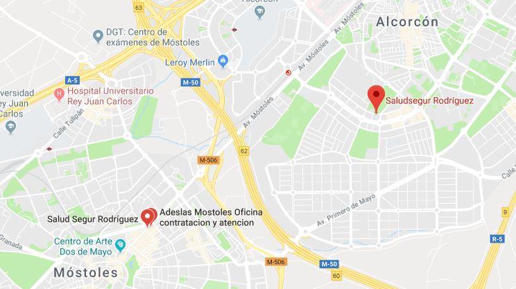 Contacto Saludsegur Agencia Exclusiva Adeslas