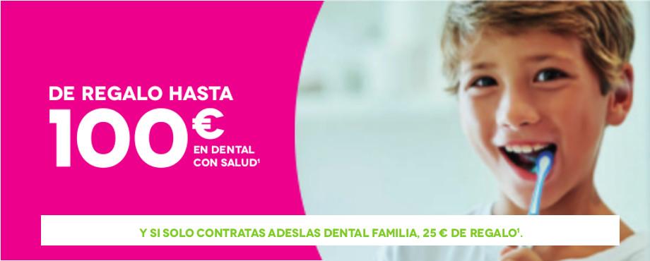 Contrata tu seguro dental Adeslas